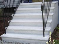 precast concrete stairs in Ma and RI
